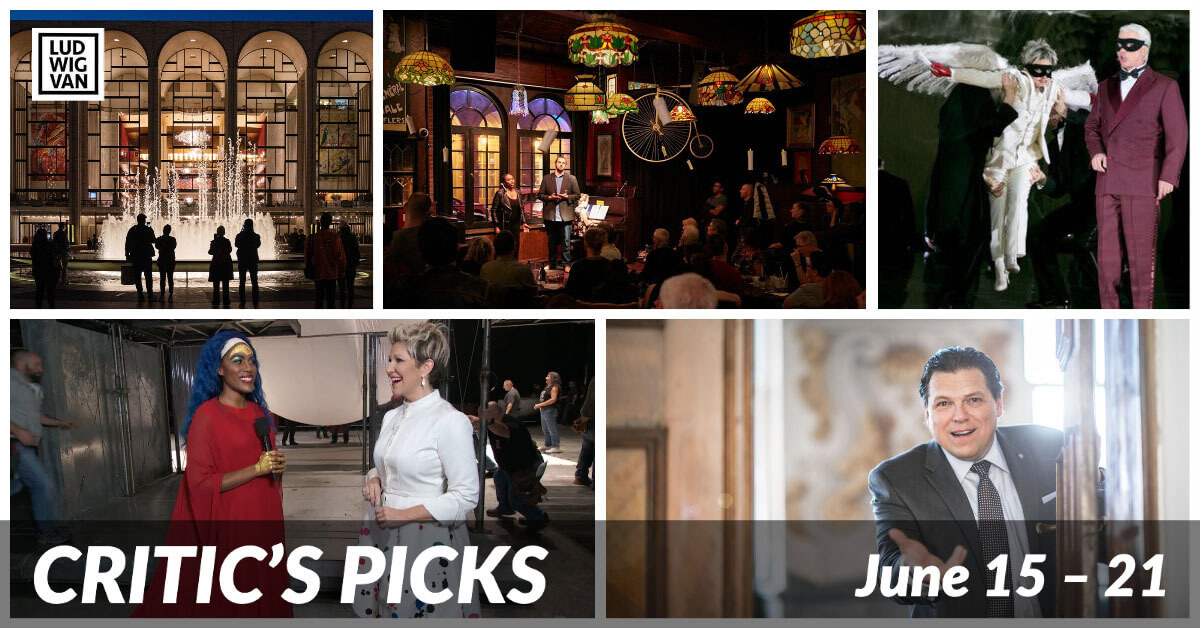 Classical music and opera events streaming on the web for the week of June 15 – 21.
