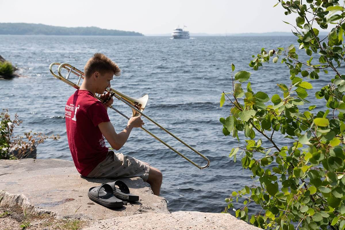 NYO Canada, Festival of the Sound, Parry Sound. (Photo: Mark Rash)