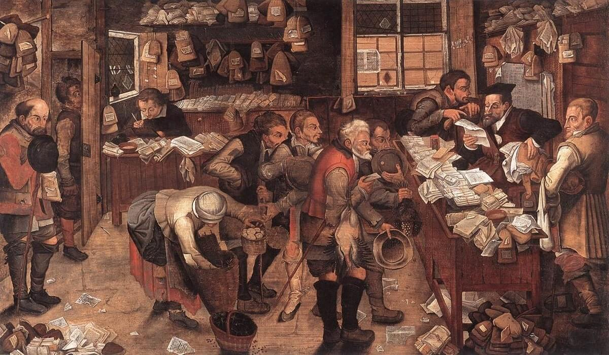 Pieter Brueghel the Younger - Village Lawyer