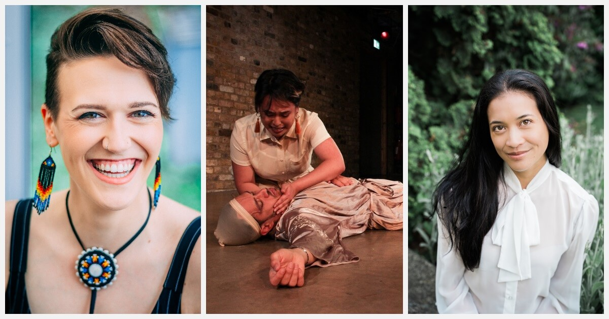 Rebecca Cuddy (Photo: Brenden Friessen); Renee Fajardo with Giovanni Bienne (Photo: Hiranya Griffith-Unny); Perri Lo (Photo: Madaleine Lahaie of MalahPhoto)