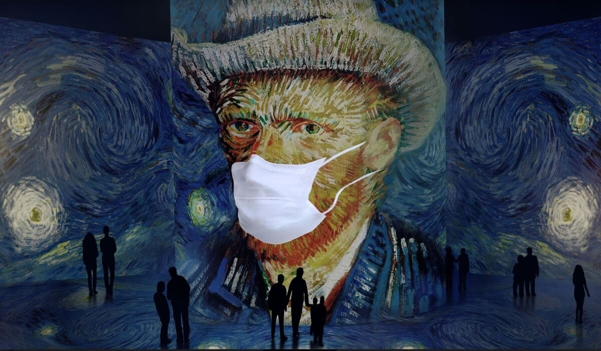 Image courtesy of Van Gogh Immersive