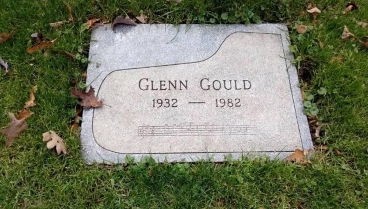 Gould's final resting place at Mount Pleasant Cemetery (Photo: Lindsay Pereira)