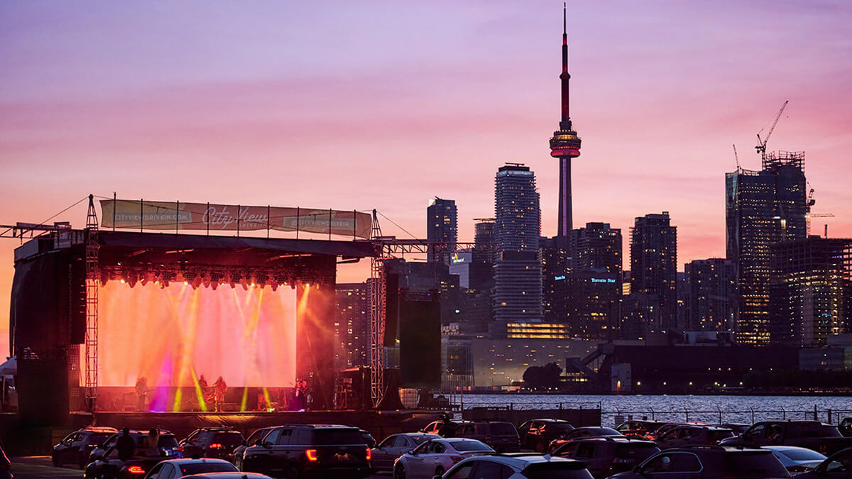 CityView drive-in Toronto