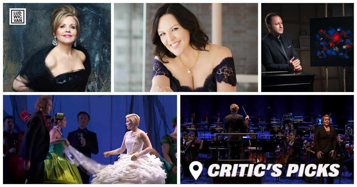 Classical music and opera events streaming on the web for the week of November 30 – December 6.