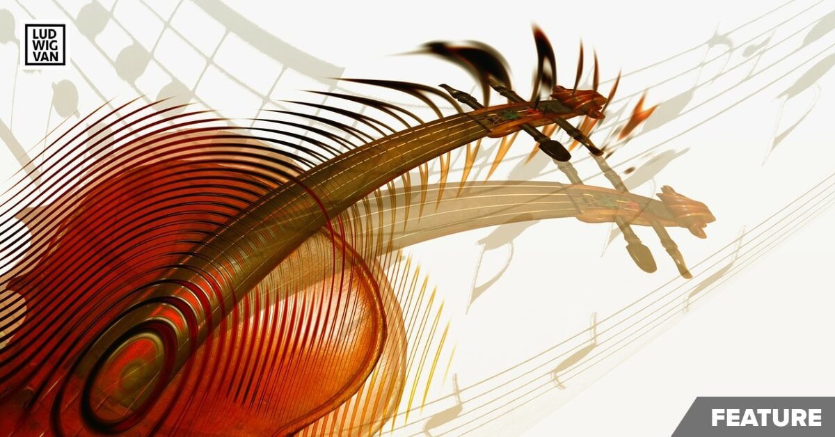 Abstract violin Image by Gerd Altmann (Pixabay)