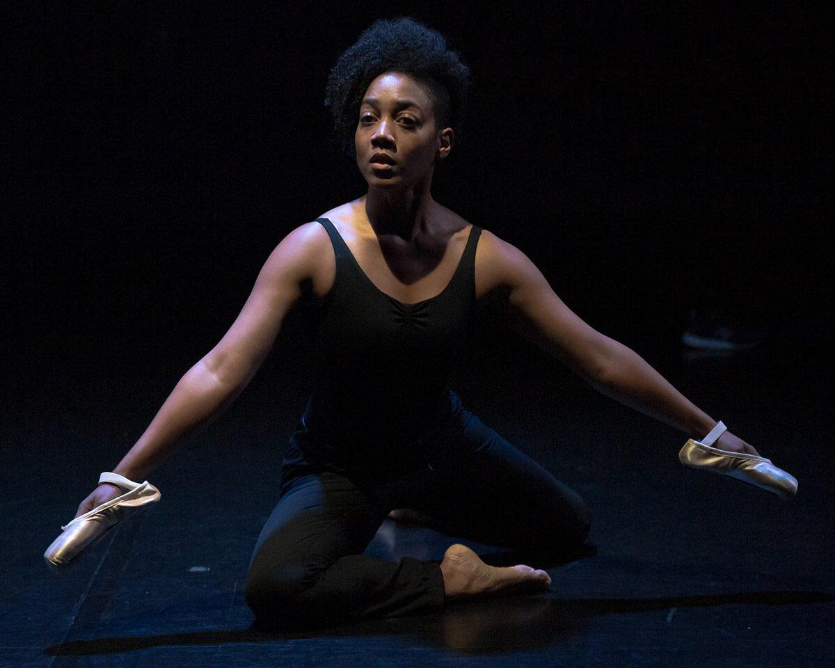 Black Ballerina — Syreeta_Hector (Photo: Jeremy Mimnagh)
