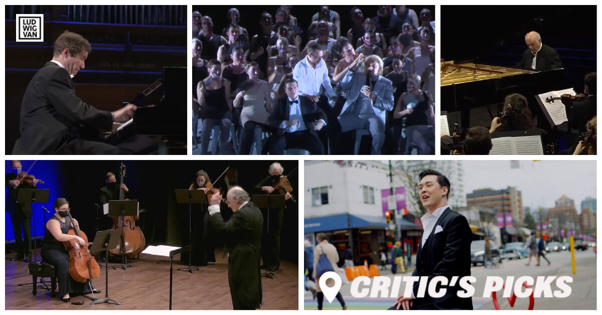 Classical music and opera events streaming on the web for the week of December 28 – January 3.