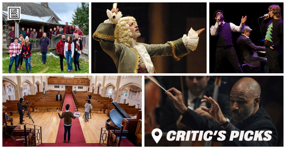 Classical music and opera events streaming on the web for the week of December 14 – 20.