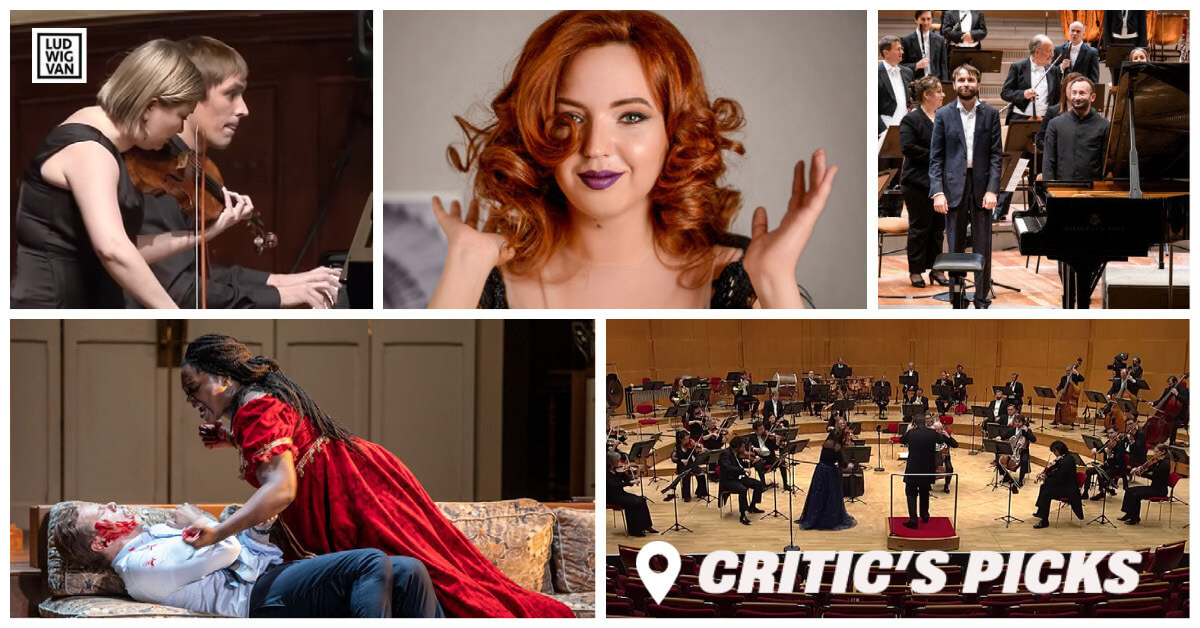 Classical music and opera events streaming on the web for the week of January 25 – 31.