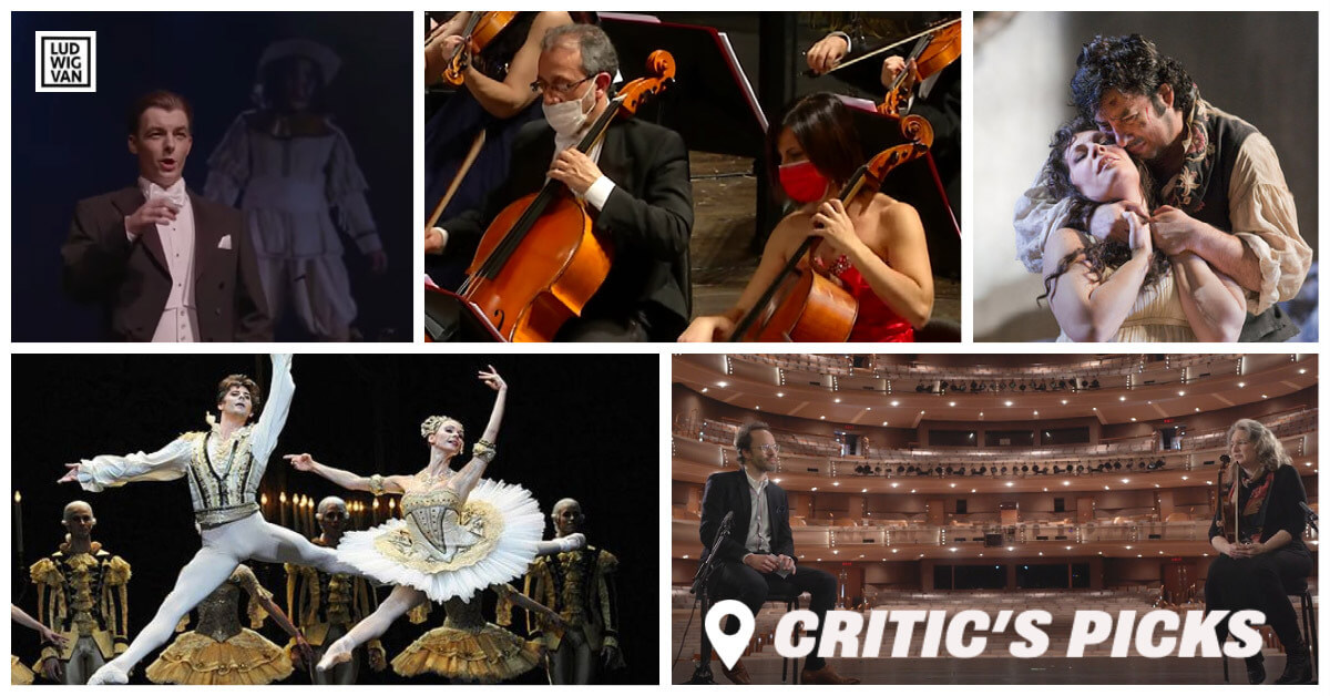 Classical music and opera events streaming on the web for the week of January 4 – 10.