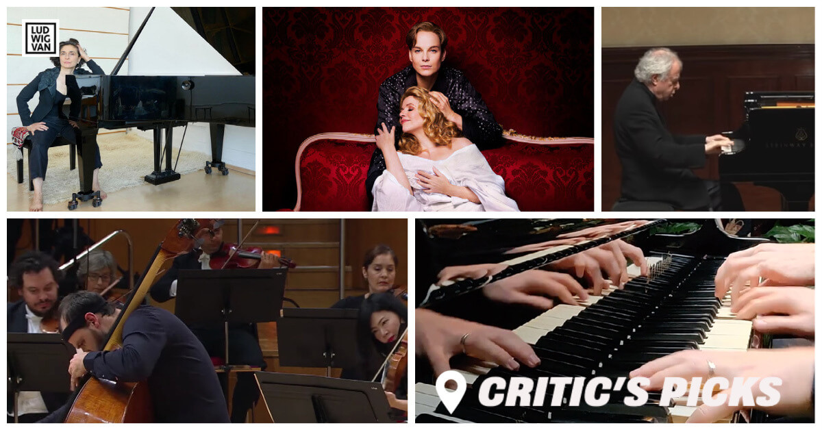 Classical music and opera events streaming on the web for the week of January 11 – 17.
