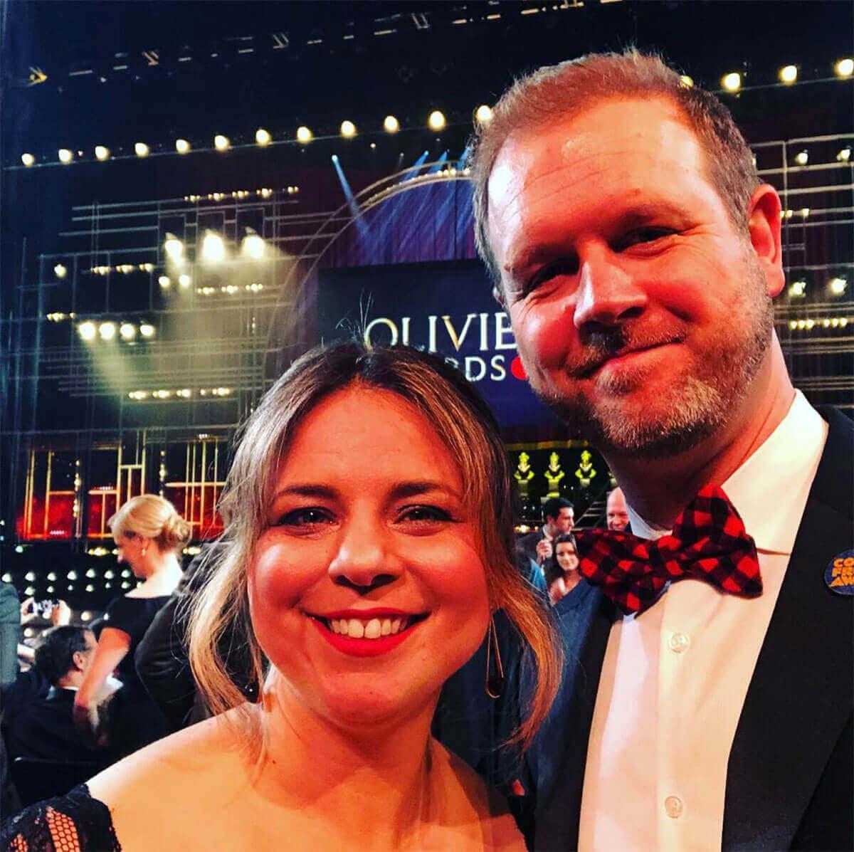 David Hein & Irene Sankoff (Photo: Instagram)