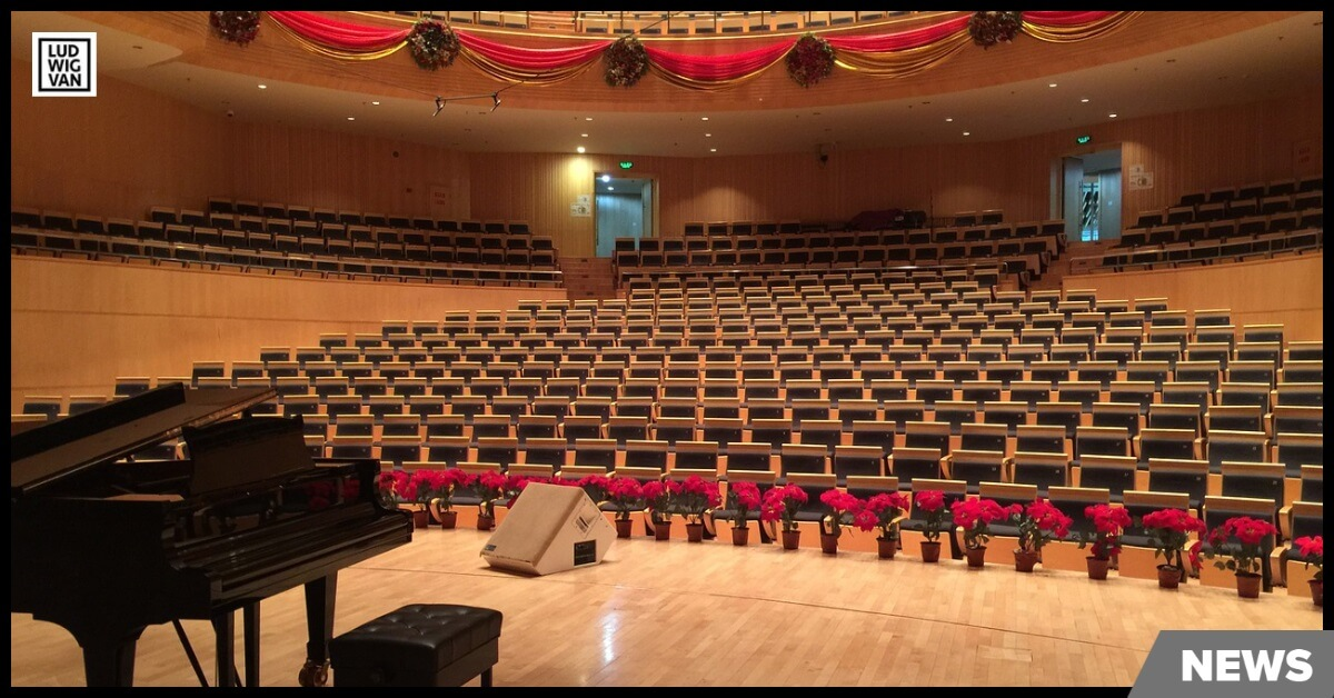 empty concert hall Photo by Kailing Piano/Pixabay