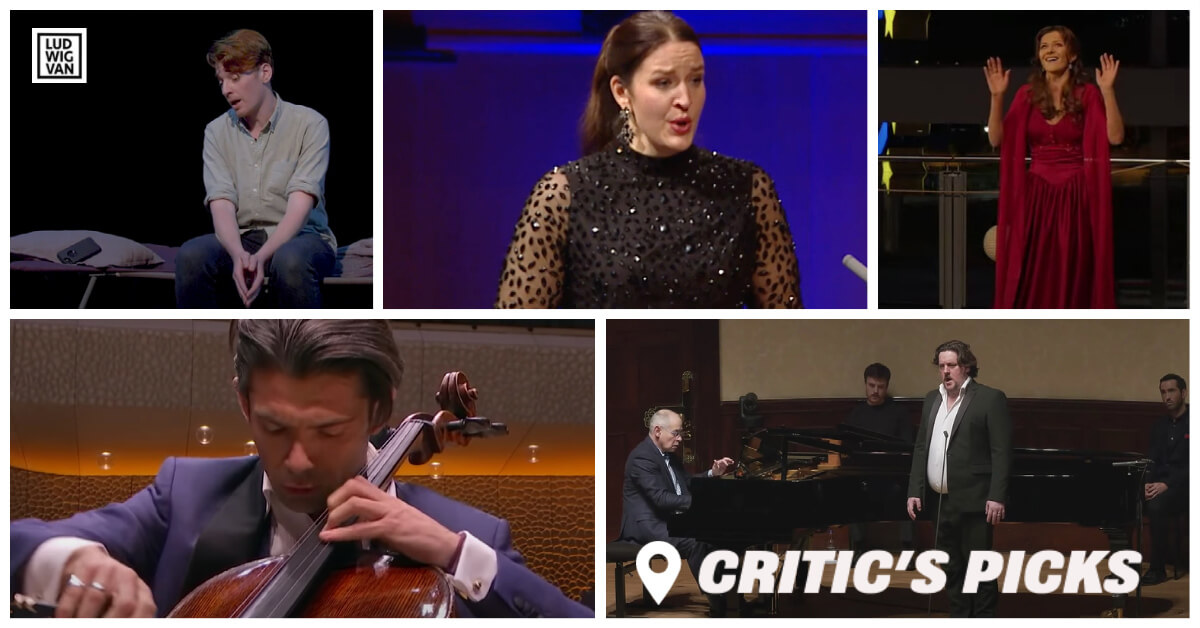 Classical music and opera events streaming on the web for the week of February 1 – 7.