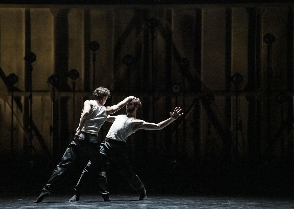 Paris Opera Ballet Alexandre Gasse and Julien Guillemard (Photo: Julien Benhamou)