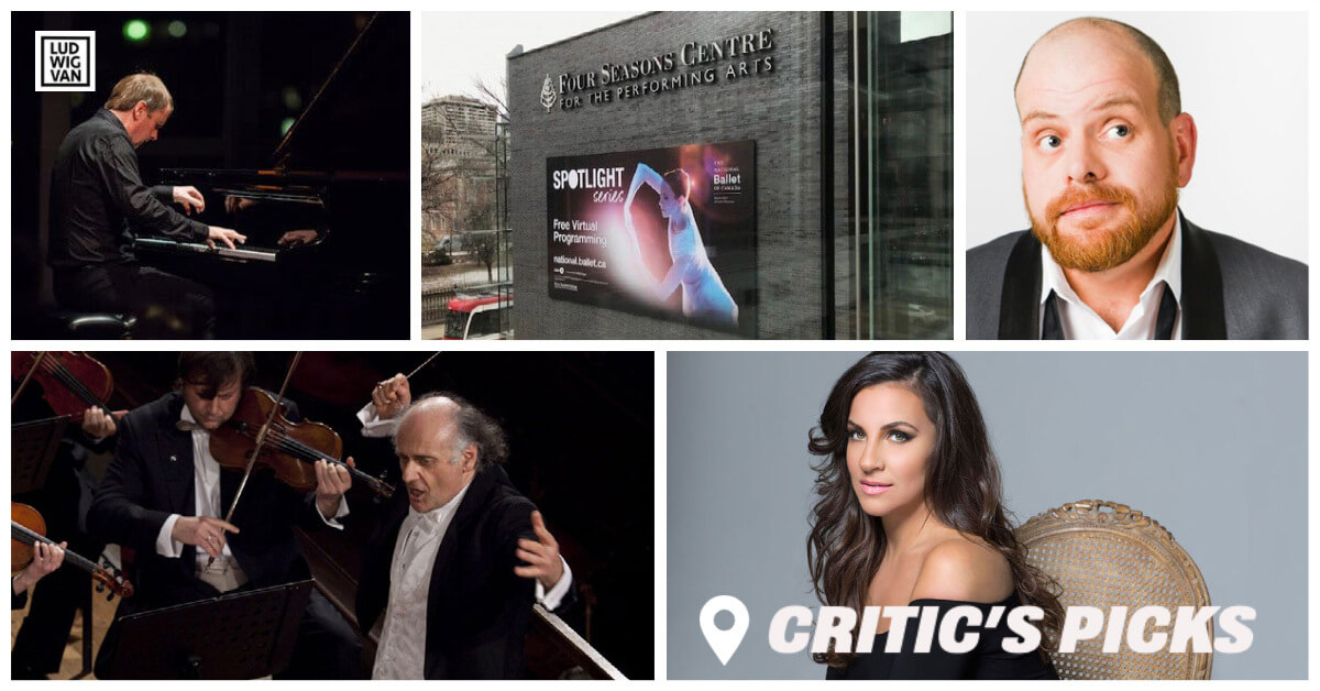 Classical music and opera events streaming on the web for the week of March 15 – 21.
