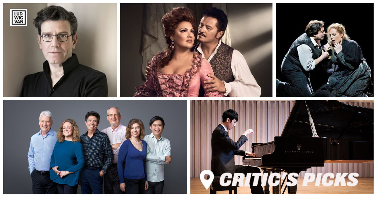 Classical music and opera events streaming on the web for the week of March 8 – 14.