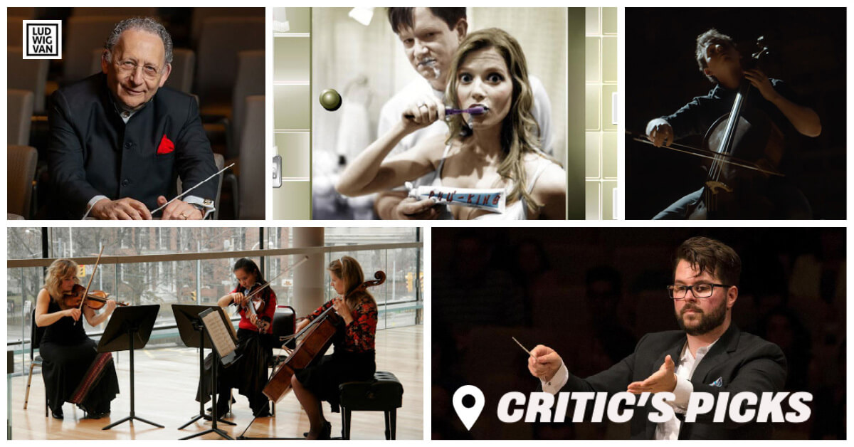 Classical music and opera events streaming on the web for the week of March 29 – April 4.