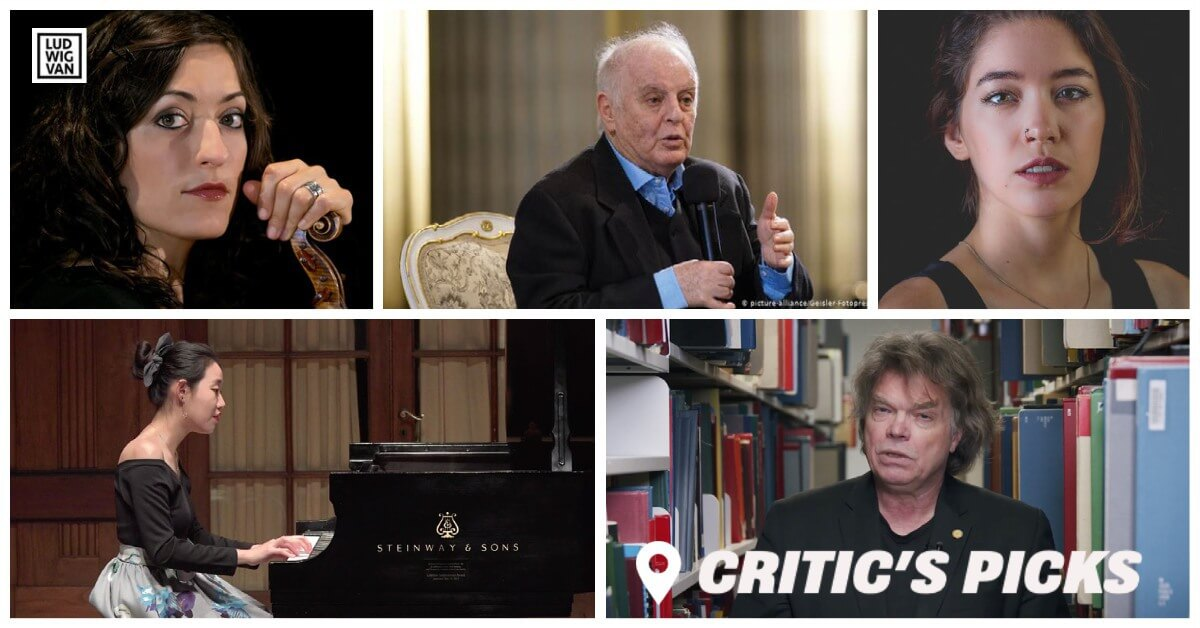Classical music and opera events streaming on the web for the week of April 26 to May 2.