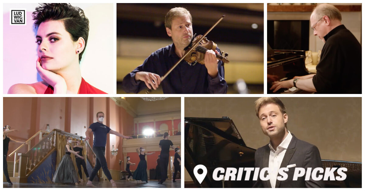 Classical music and opera events streaming on the web for the week of April 12 – 18.