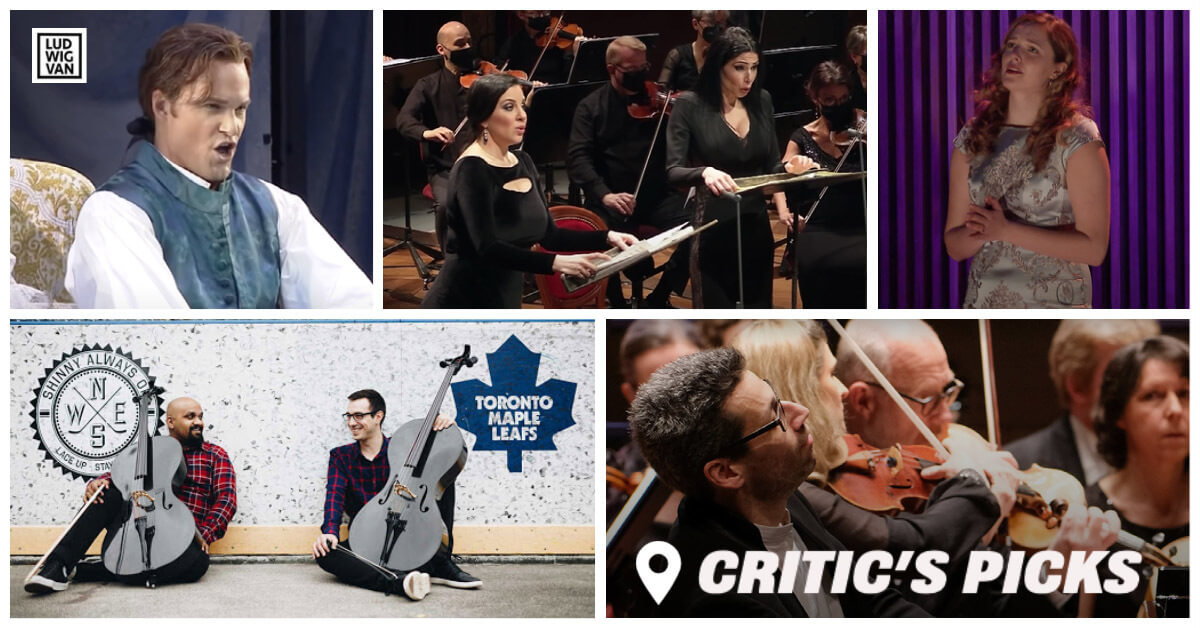 Classical music and opera events streaming on the web for the week of April 19 – 25.