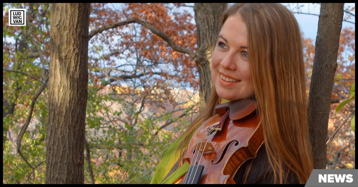Lara St. John (Photo: Martin Kennedy)