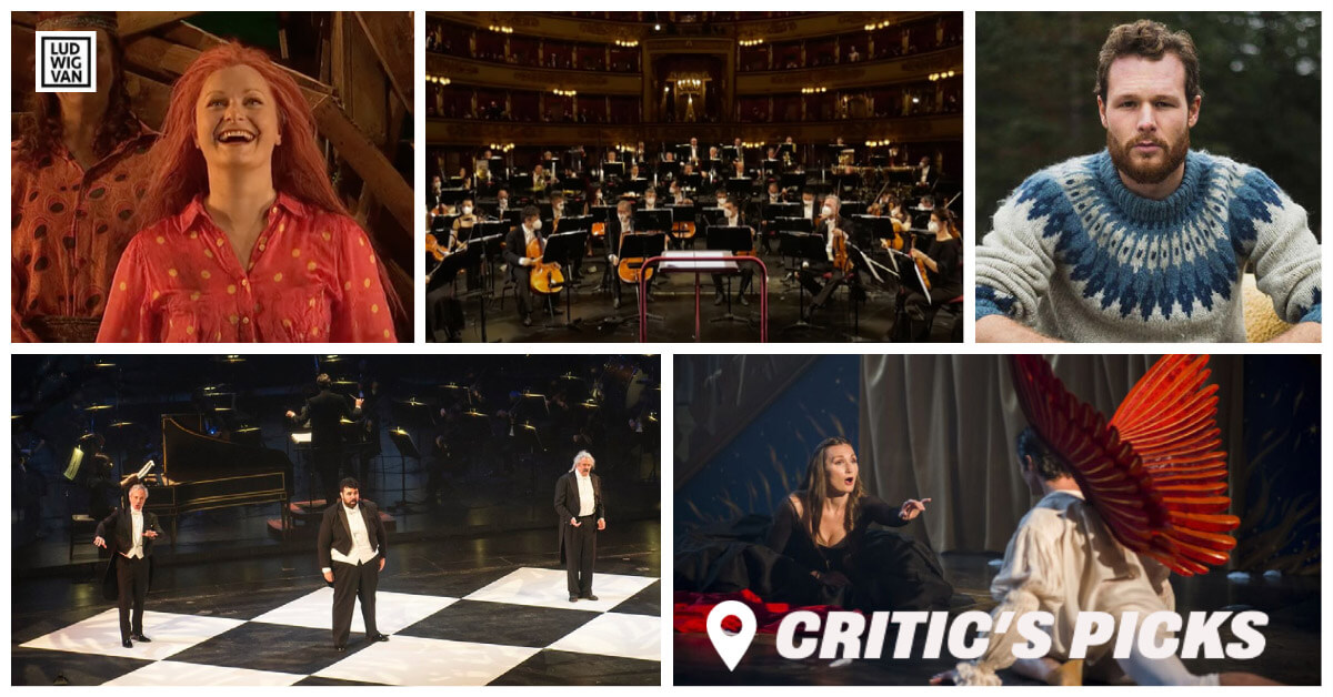 Classical music and opera events streaming on the web for the week of May 24–30.