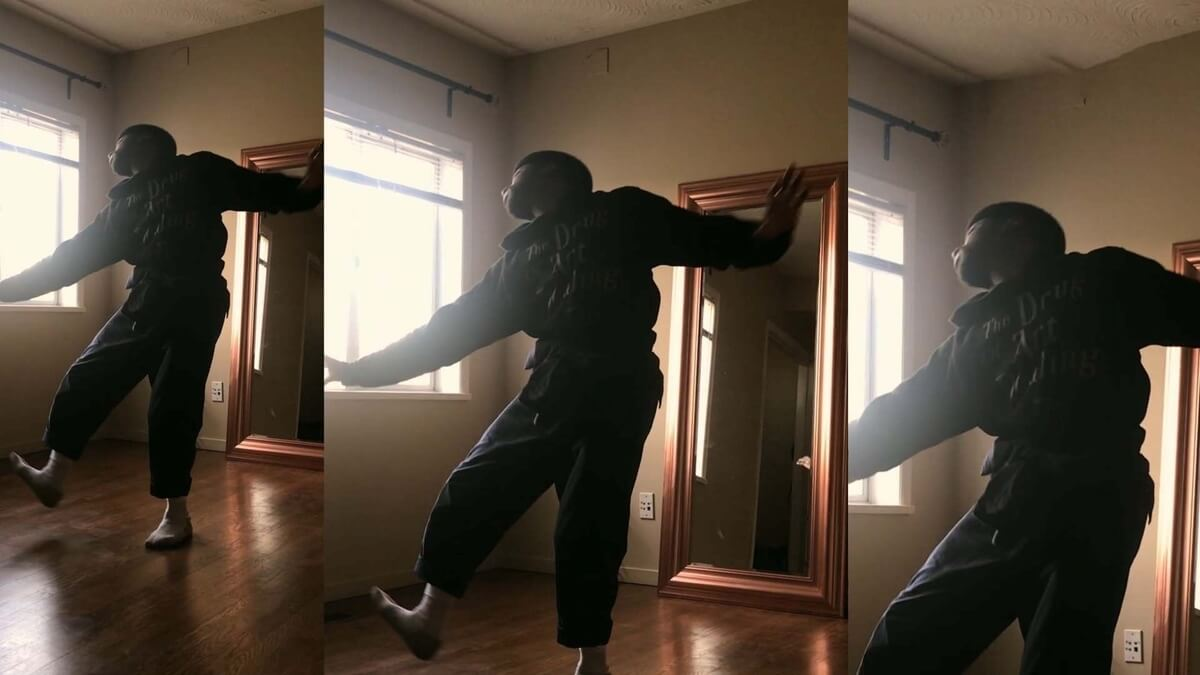 Dancer Kevin Fraser (Photo: Esie Mensah Creations)