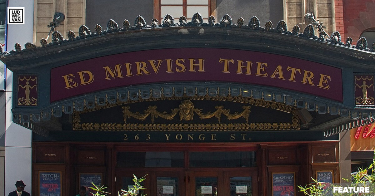 The Ed Mirvish Theatre (Photo: Tony Hisgett from Birmingham, UK/CCO 2.0)