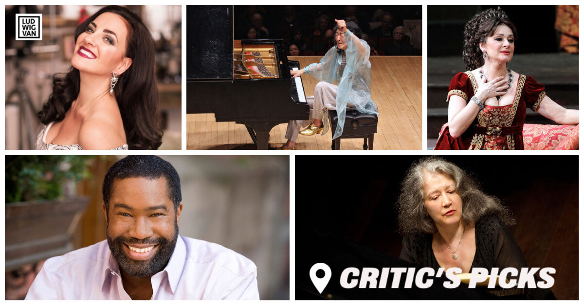 Classical music and opera events streaming on the web for the week of June 7–13.