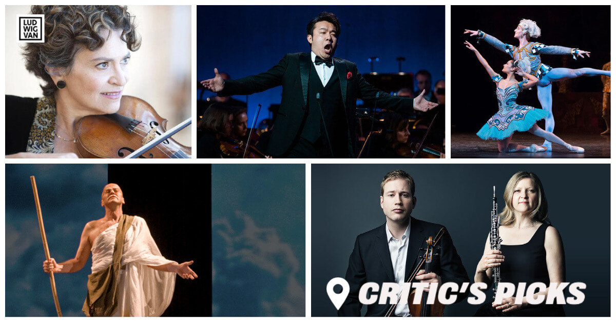 Classical music and opera events streaming on the web for the week of June 28 – July 4.