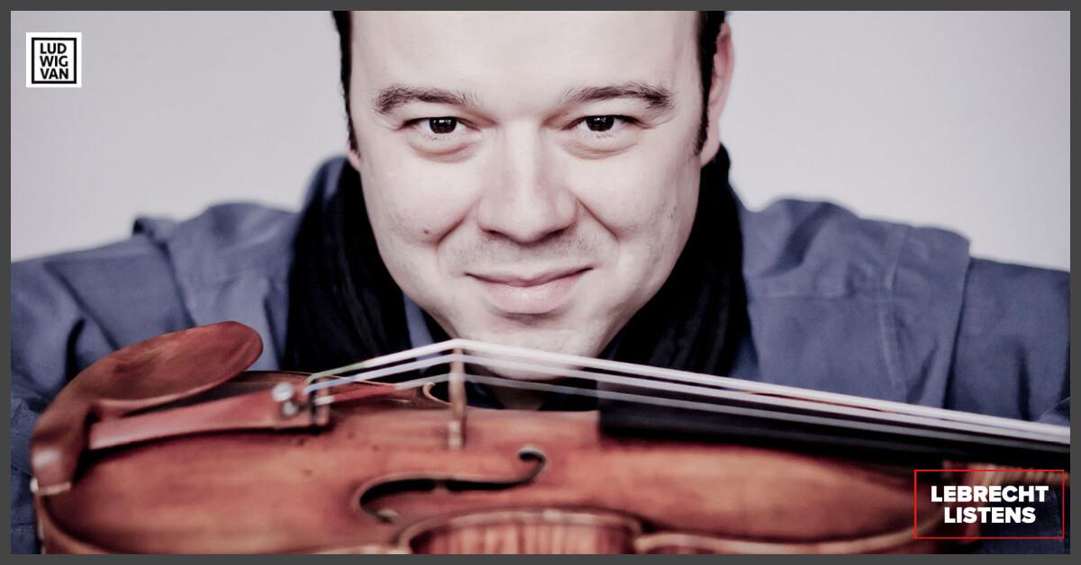 Violinist Vadim Gluzman (Photo: Marco Borggreve)