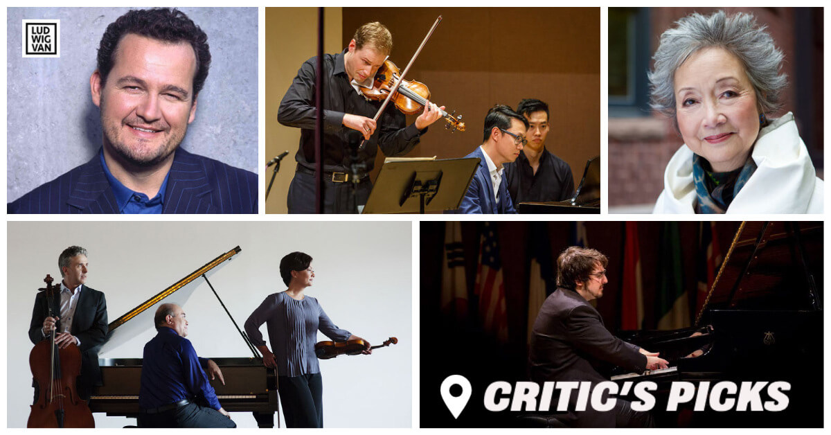 Classical music and opera events streaming on the web for the week of July 12–18.