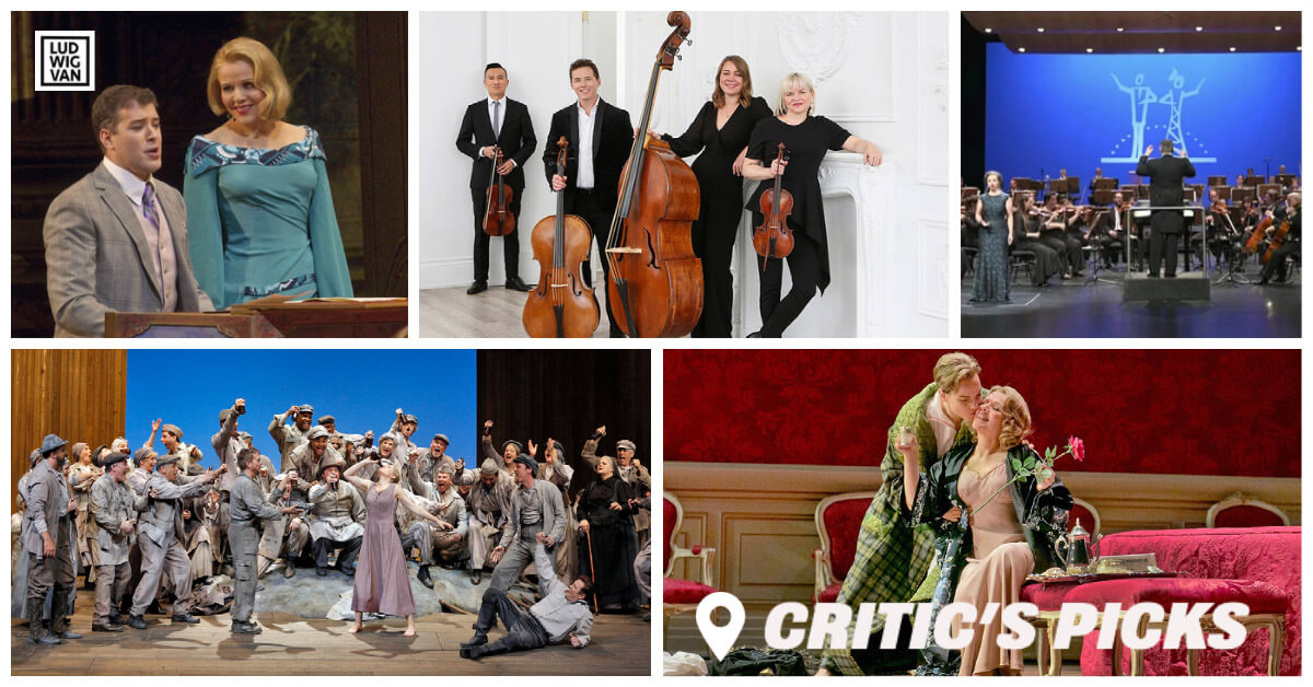 Classical music and opera events streaming on the web for the week of July 5–11.