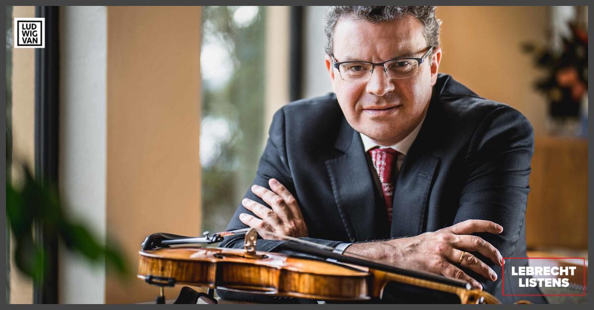 Emmanuele Baldini/ Concertmaster at the São Paulo Symphony Orchestra (Photo: Fernando Rus)