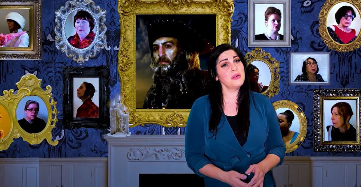 Opera Sustenida's Stephanie DeCiantis (image courtesy of the artist)