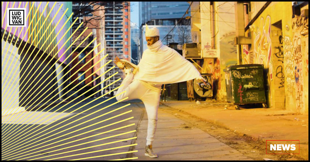 Libydo, a collaborative dance performance artist featured in Soundstreams' annual Electric Messiah (Photo courtesy of Soundstreams)