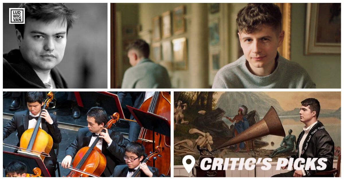 Classical music and opera events for the week of September 7–12