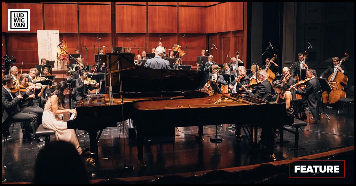 La Fiammata Piano Duo (Photo: Fabian Stoffer)